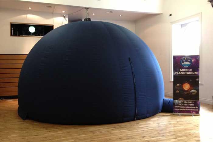 Mobile-Planetarium