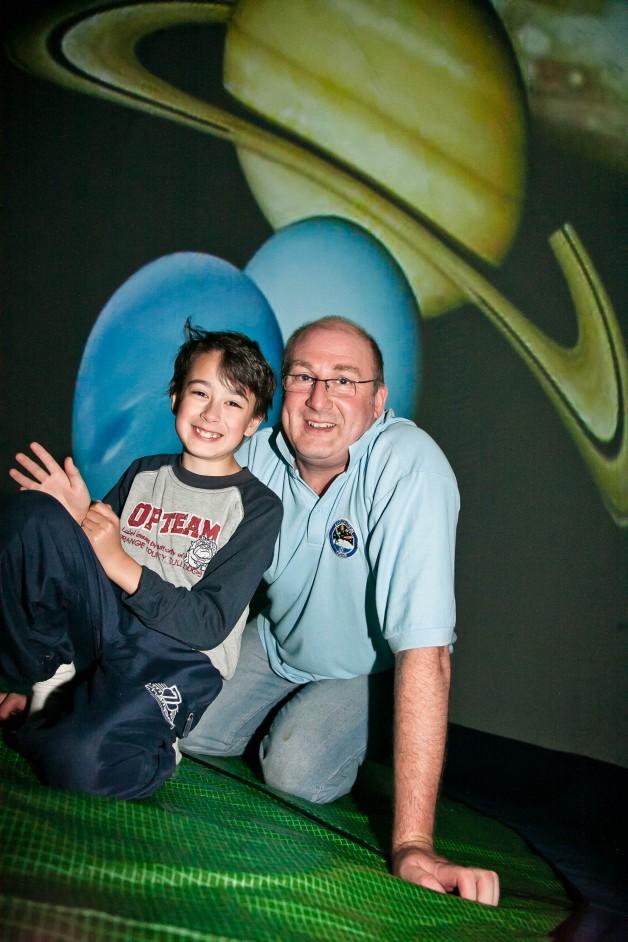 Martin and son